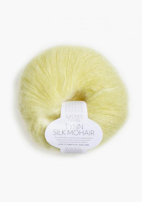 Tynn Silk Mohair 2101 Lys Gul - Sandnes Garn