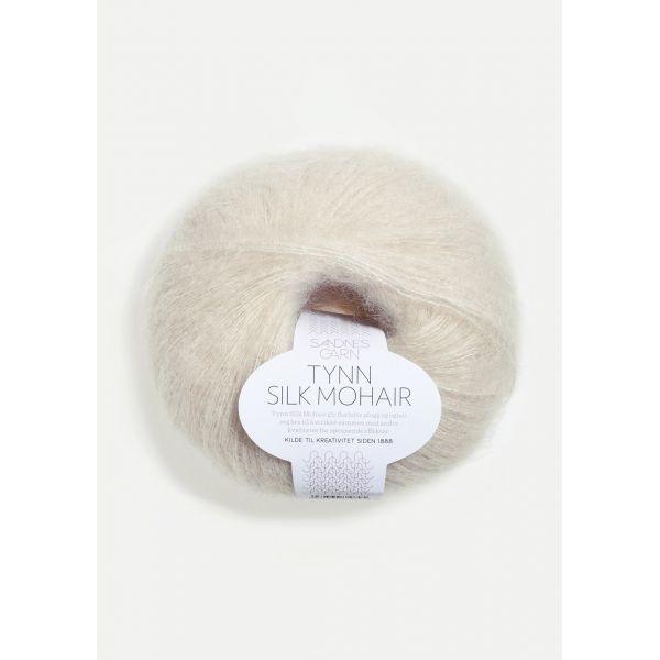 Tynn Silk Mohair 1015 Kitt - Sandnes Garn