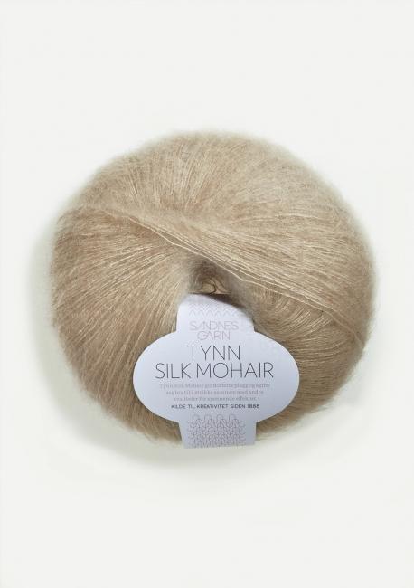 Tynn Silk Mohair 3021 Lys Beige - Sandnes Garn