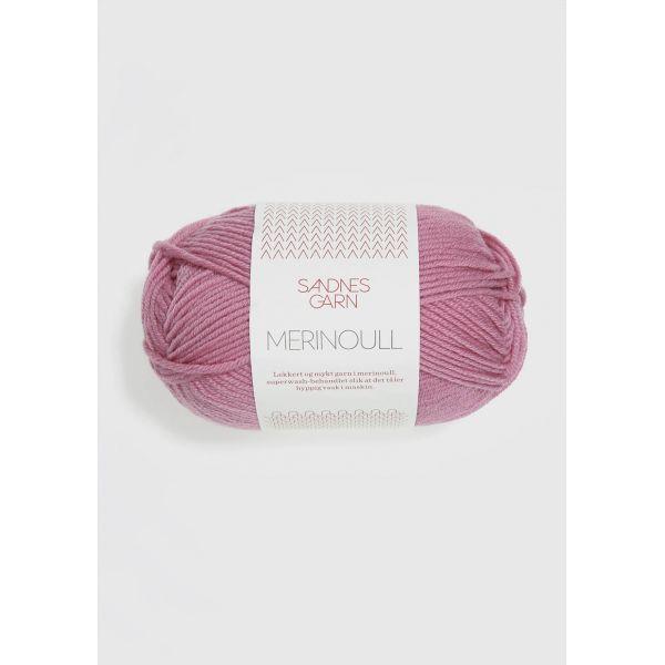 Merinoull 4715 Rosa - Sandnes Garn