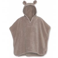 Kids Terry Poncho - Bark