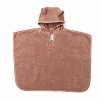 Kids Terry Poncho - Sienna