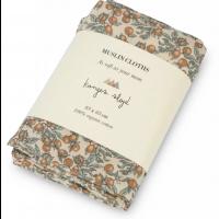 3 PK Muslin Cloth - Orangery Beige