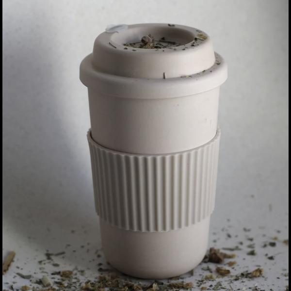 Bamboo Coffee Mug, Fog