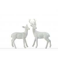 Sett med to hvite hjorter, small