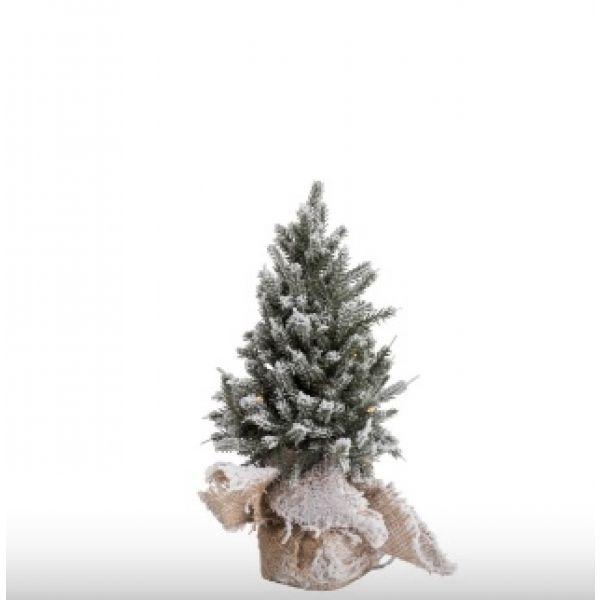 Lite juletre med ledlys
