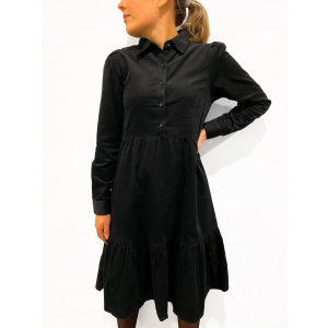 Peyton Dress Oil Black