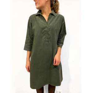 Aisha Dress Dark Forest