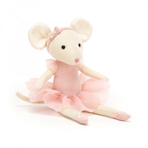 JELLYCAT - PIROUETTE MOUSE CANDY 27 CM