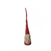 Nisse rød velour 100cm