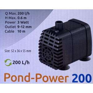 Figurpumpe 200l/t