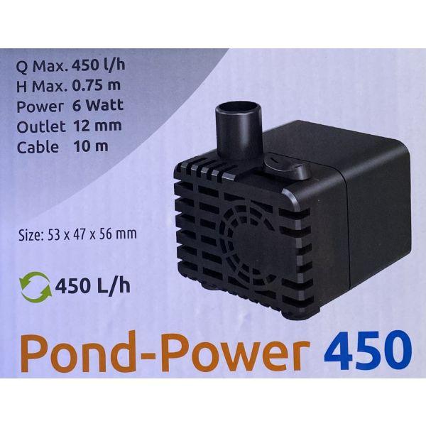 Figurpumpe 450l/t