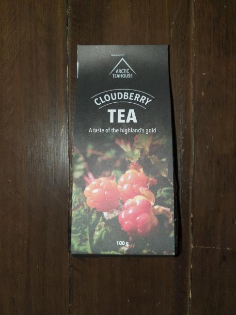 Cloudberry tea