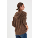 PXASTRID Brown Pullover
