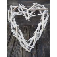 krans hjerte treverk