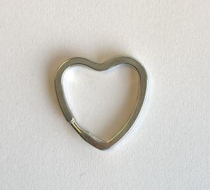 Hjerte nøkkelring