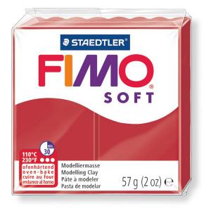 Fimo Soft 57 g Christmas Red