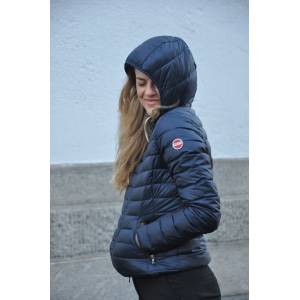 LADIES DOWN NAVY MED HETTE