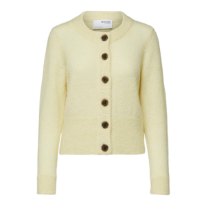 Sia Knit Cardigan Yellow