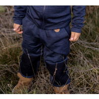 KIDS WOOL FLEECE PANTS