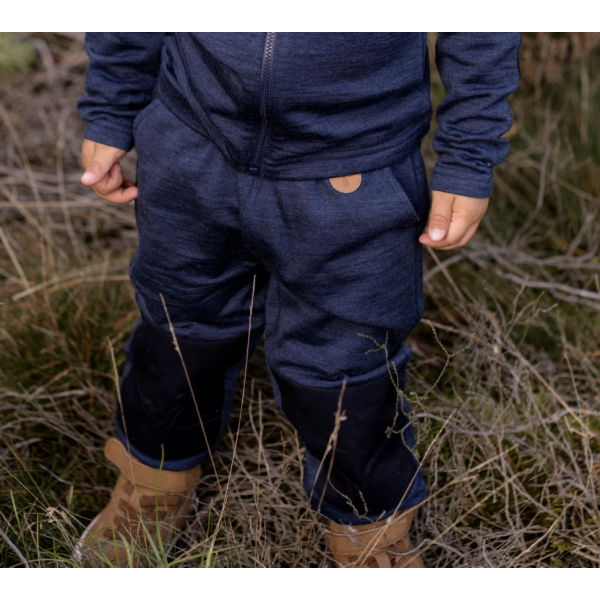 KIDS WOOL FLEECE PANTS