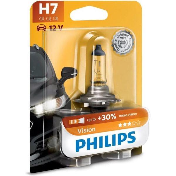 H7 Philips Vision Halogen