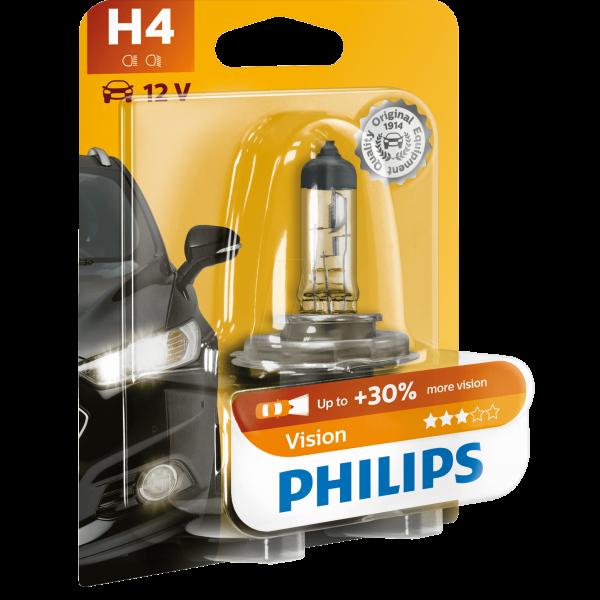 H4 Philips Vision Halogen