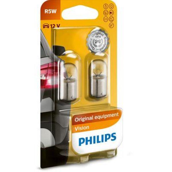PHILIPS R5W 2PK