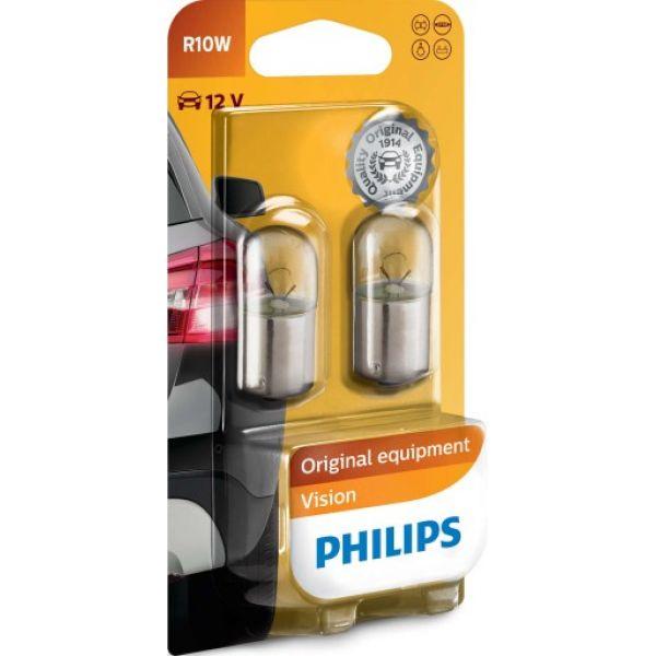 PHILIPS R10W 2PK