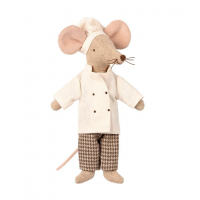 Maileg mus, chef mouse