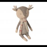 Winter friends, reindeer - boy