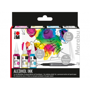 Marabu Alcohol Ink Sett – FLOWERS