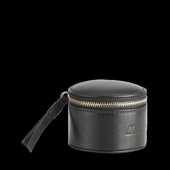 Lova Jewelry Box Grain S Black w/Gold