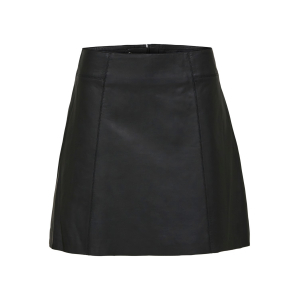 Ibi Leather Skirt