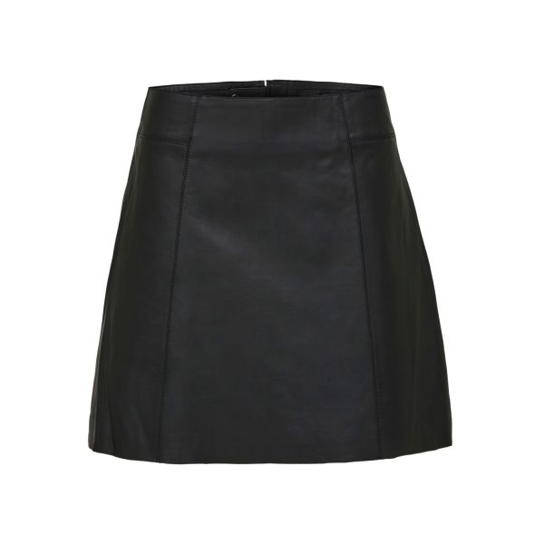 Ibi Leather Skirt