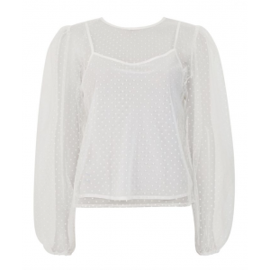 Ice dot blouse