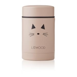 LIEWOOD - NADJA FOOD JAR CAT ROSE