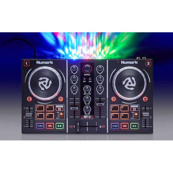 DJ KONTROLLER Numark Party Mix m/lys-show