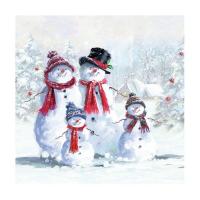 Snowman With Hat Lunsj