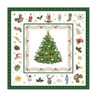 Christmas Evergreen White Lunsj