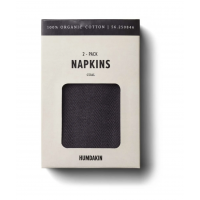 2 pk Napkins - Coal