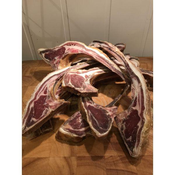 Pinnekjøtt fra Lofoten, lettrøkt, 1 kg
