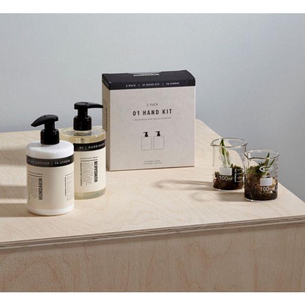Humdakin - Håndpleiesett - Tindved og Kamille 2 x 300 ml såpe + lotion