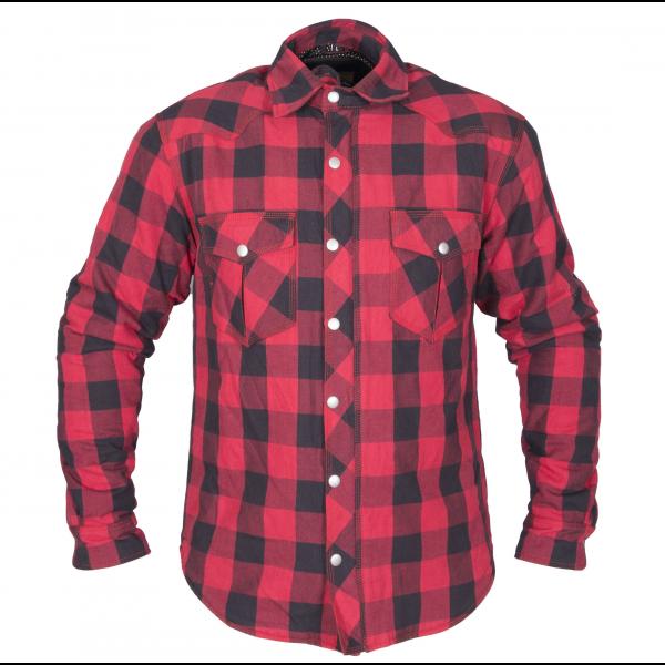 Bullfighter flannel skjorte kevlar Rød