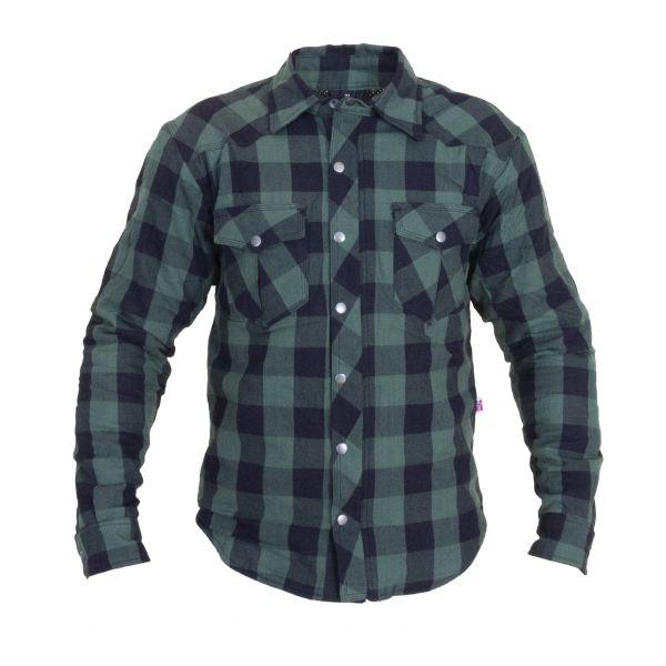 Bullfighter grønn flannel skjorte kevlar
