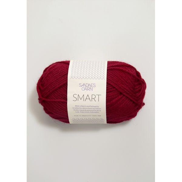 Smart 4065 Vinrød - Sandnes Garn