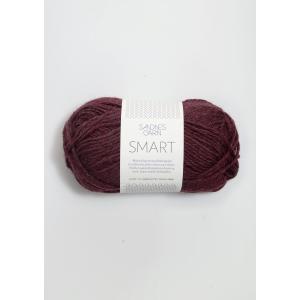 Smart 4363 Vinrød - Sandnes Garn