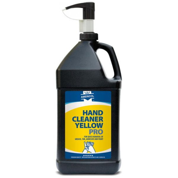 Americol Hand Cleaner Yellow Pro, med pumpe, 3,8L