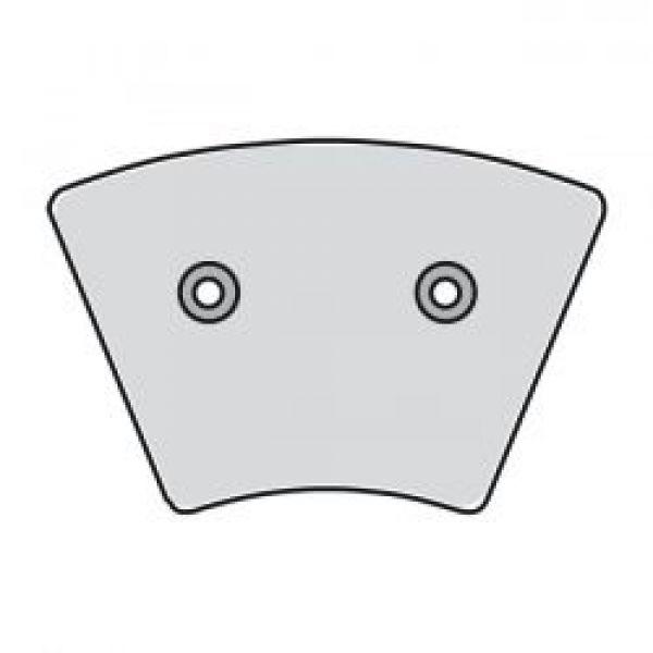 DISC BRAKE PADS  FRONT: 74-77 XL, FX (NU)