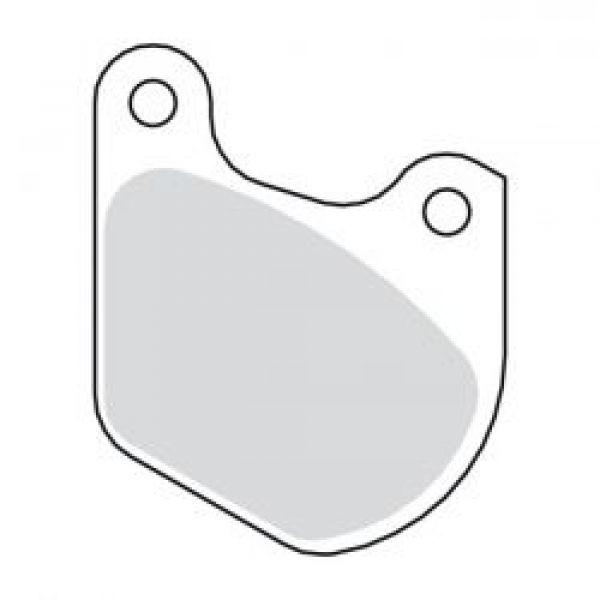DISC BRAKE PADS, FRONT & REAR  80-83 FLT FRONT; XL 79-81 Bak (NU)